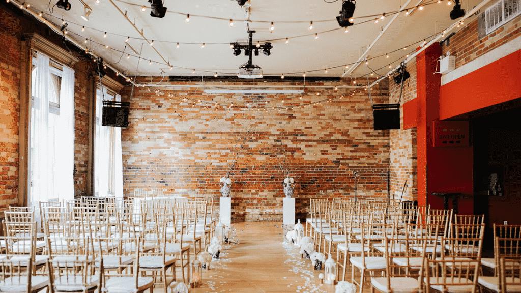 gladstone hotel small wedding venues toronto