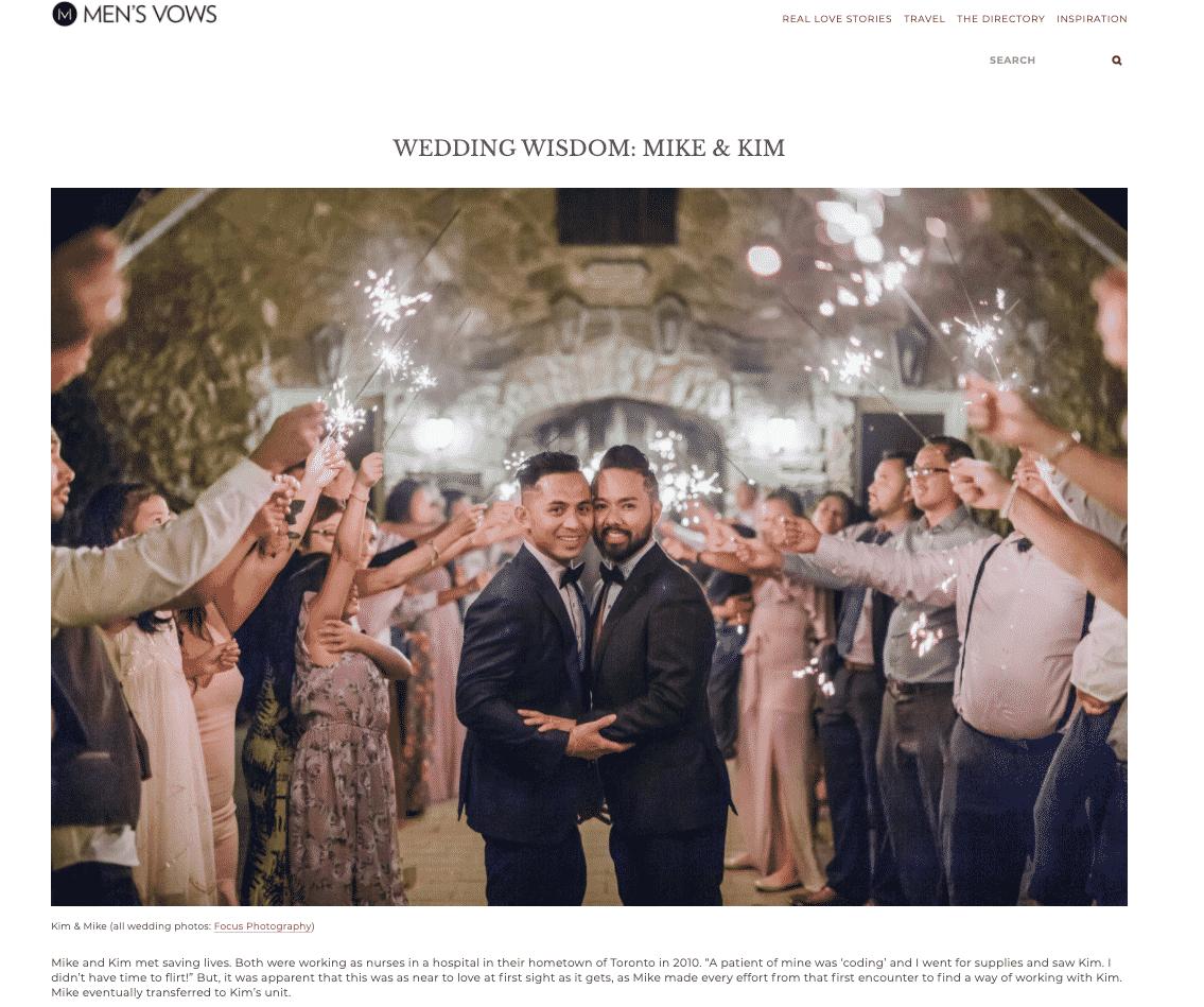 Wedding published