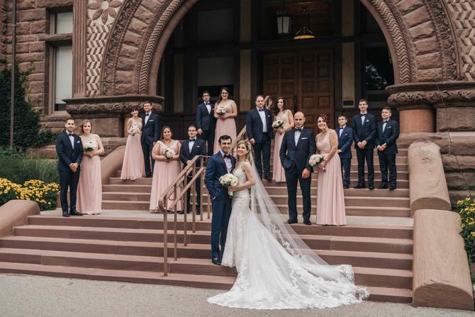 Paramount Event Space Wedding